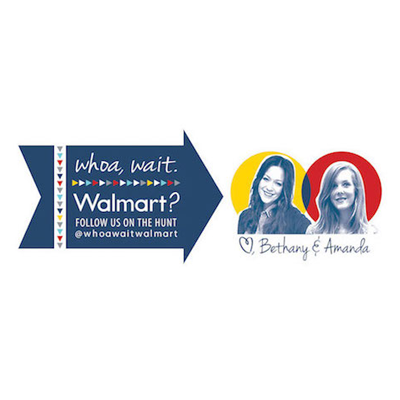 Whoa, wait. Walmart?