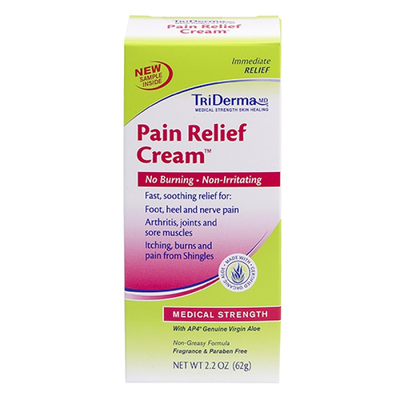 Pain Relief Cream Shingles Cream Neuropathy Cream Triderma