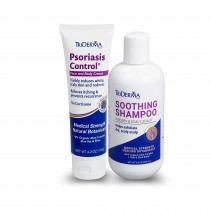 Psoriasis Control® Cream + Soothing Shampoo Bundle