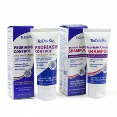Psoriasis Control Cream & Shampoo 0.5 oz - Bundle