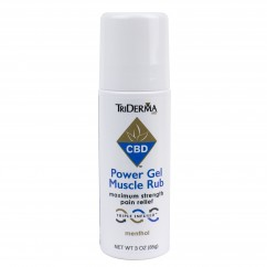 CBD Power Gel Muscle Rub