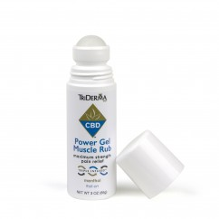 CBD Power Gel Muscle Rub (350 mg)