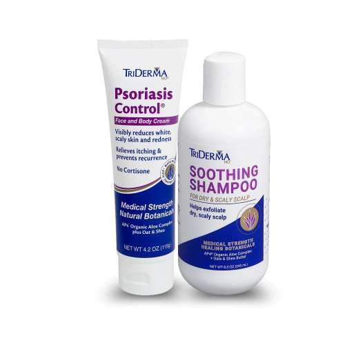 Psoriasis Control® Cream + Soothing Shampoo Bundle